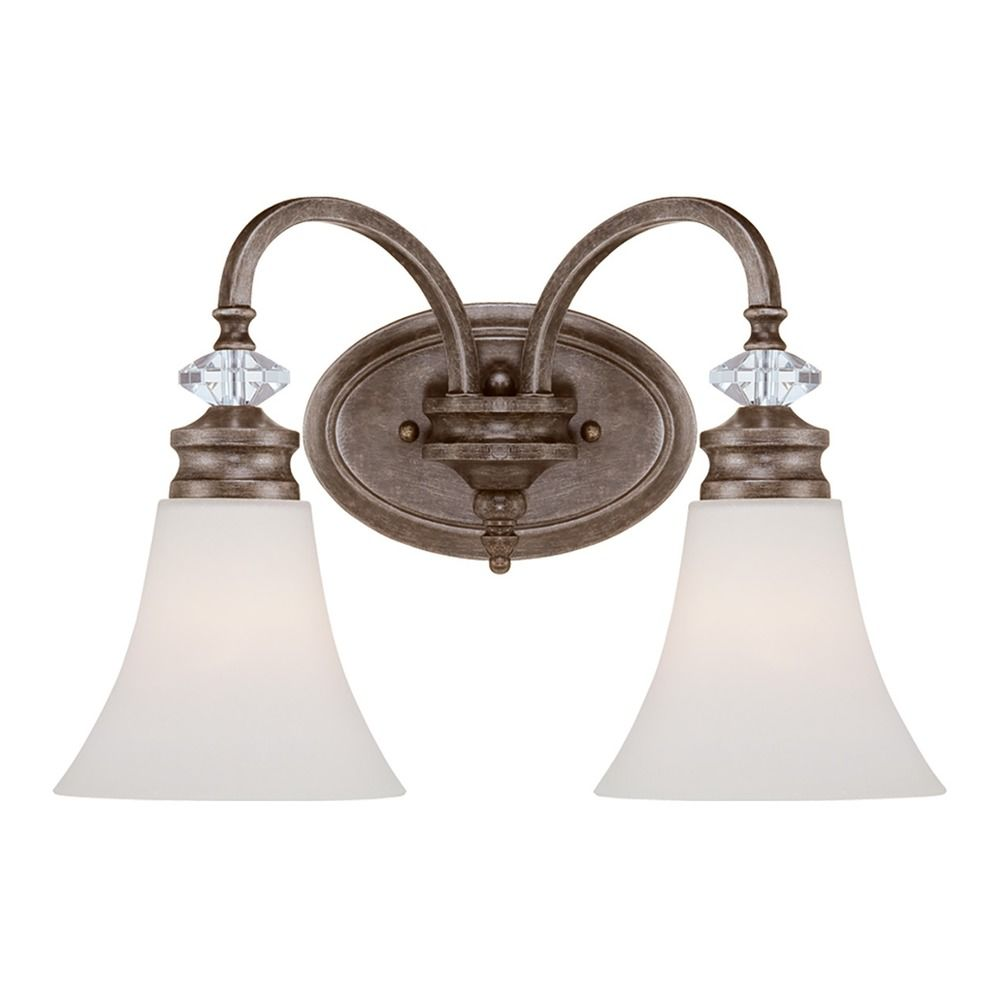 Craftmade lighting boulevard mocha bronze silver accents for Bronze and silver bathroom accessories