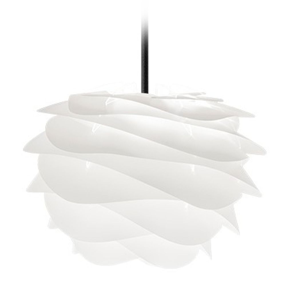 Umage Black Plug In Swag Pendant Light With Abstract Shade At Destination Lighting