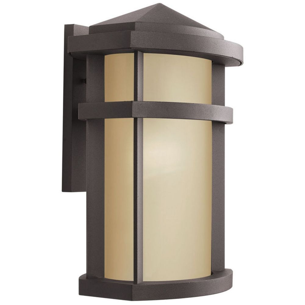 Wall Sconces Bronze Finish : Kichler Outdoor Wall Light in Bronze Finish 11069AZ Destination Lighting