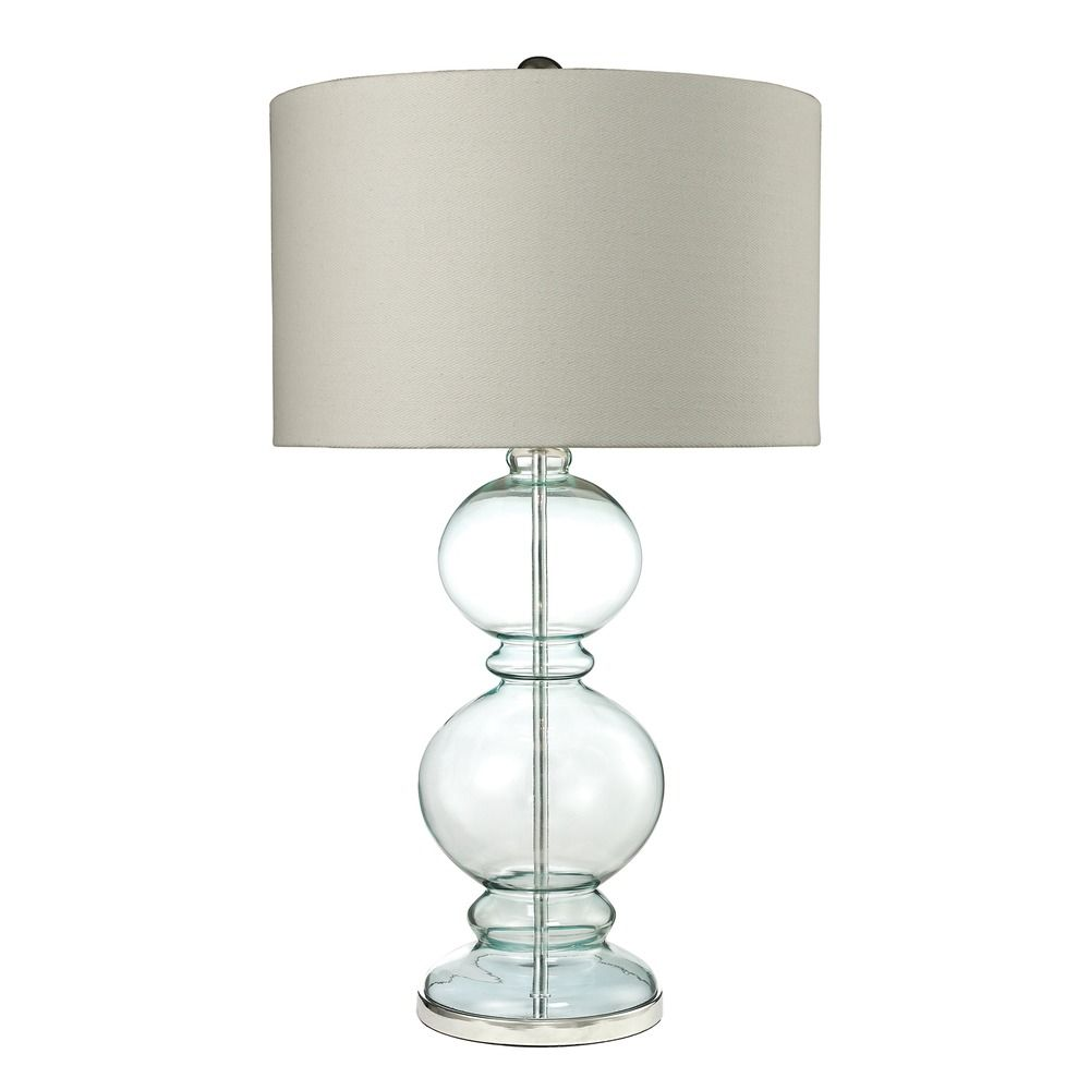 dimond lighting dimond lighting light blue table lamp with drum shade. Black Bedroom Furniture Sets. Home Design Ideas