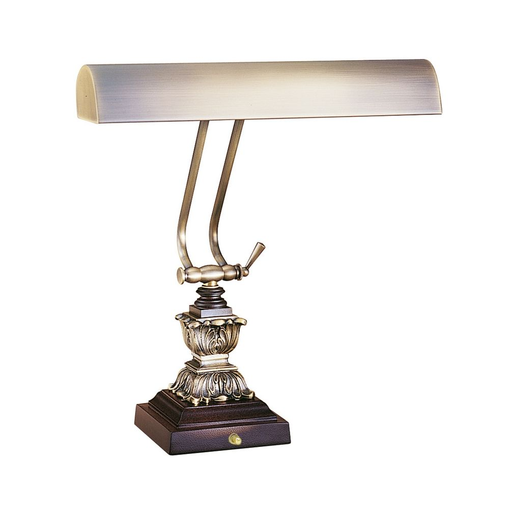 Piano / Banker Lamp in Antique Brass Finish | P14-232-C71 ...