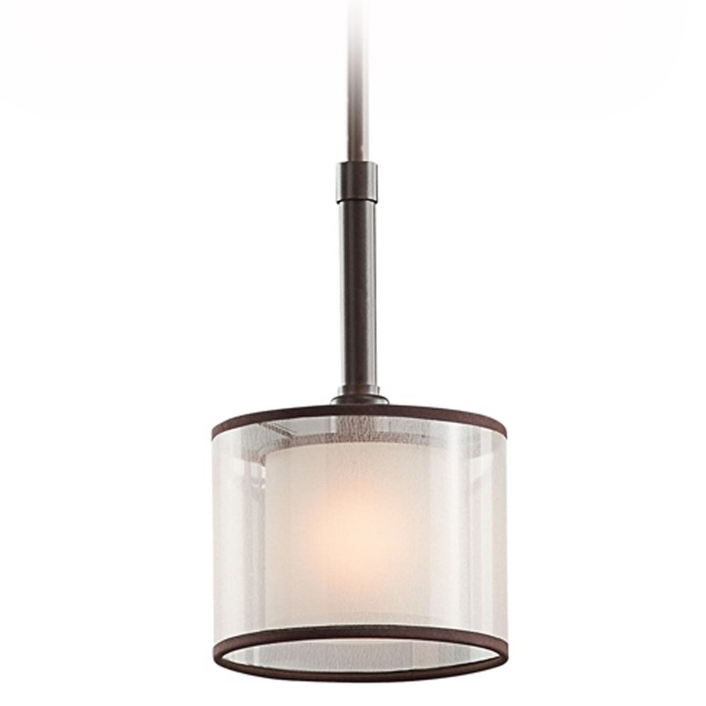 Kichler Mini Pendant Light With White Glass 42384miz