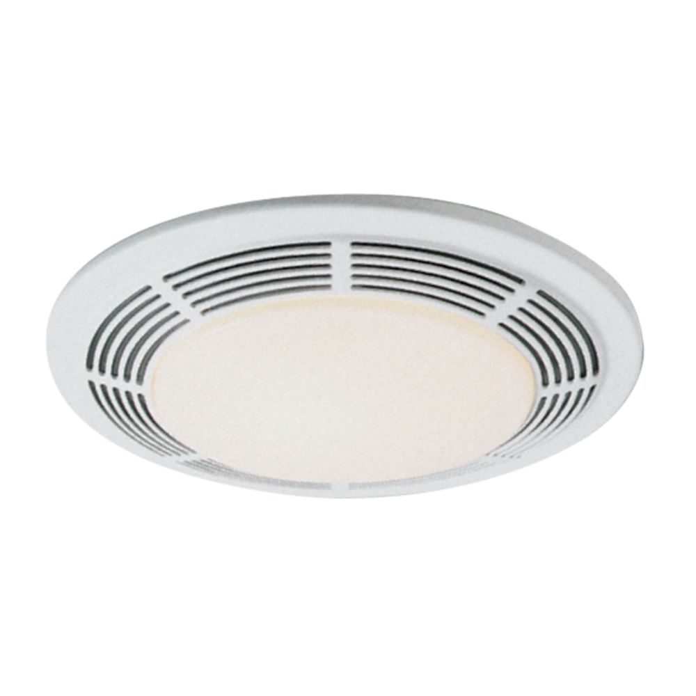 100 cfm exhaust fan with light un 8663rp destination for Bathroom exhaust fan with led light