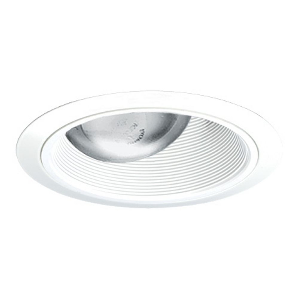 6 Inch Par30 Adjustable Gimbal Ring Trim White Recessed: Adjustable Tapered Baffle For 6-Inch Recessed Housings