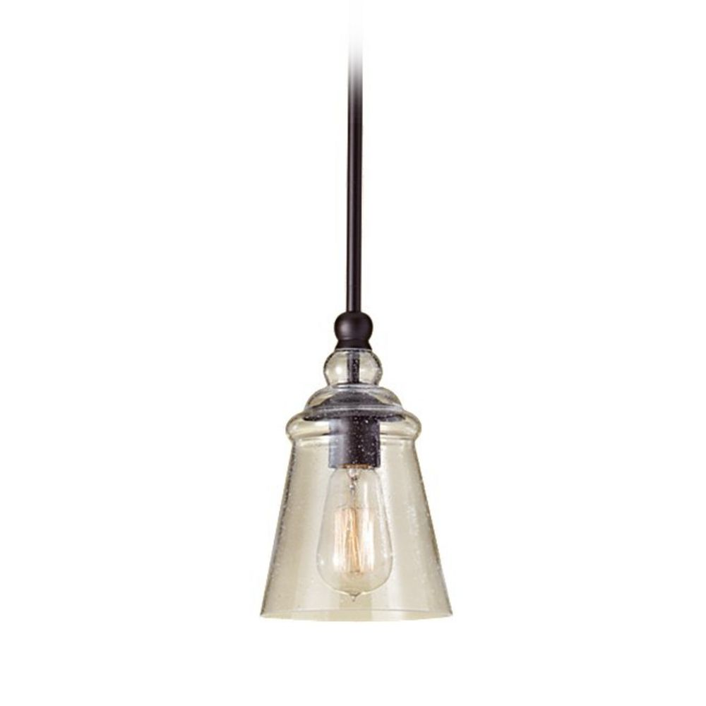 mini pendant light with clear glass p1261orb destination lighting