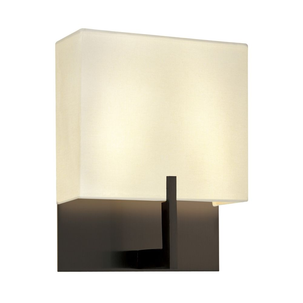 Wall Sconces Bronze Finish : Modern Sconce Wall Lights in Rose Bronze Finish 4430.30 Destination Lighting