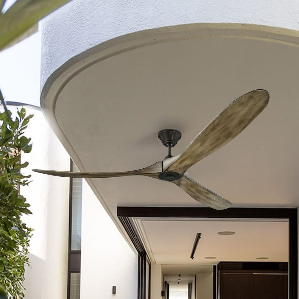 Maverick Max Aged Pewter Ceiling Fan