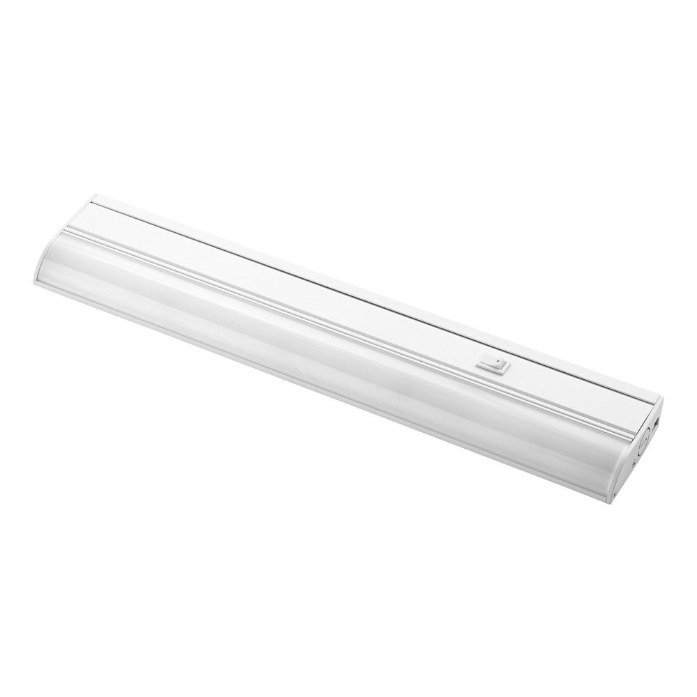 Under Counter Lighting Led Direct Wire: 18-Inch LED Under Cabinet Light Direct-Wire / Plug-In 120V