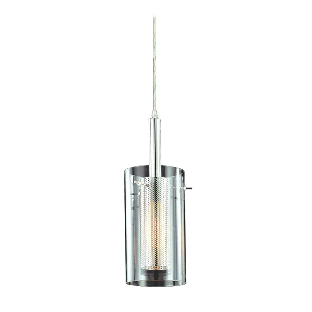 Modern mini pendant light with clear glass Modern pendant lighting