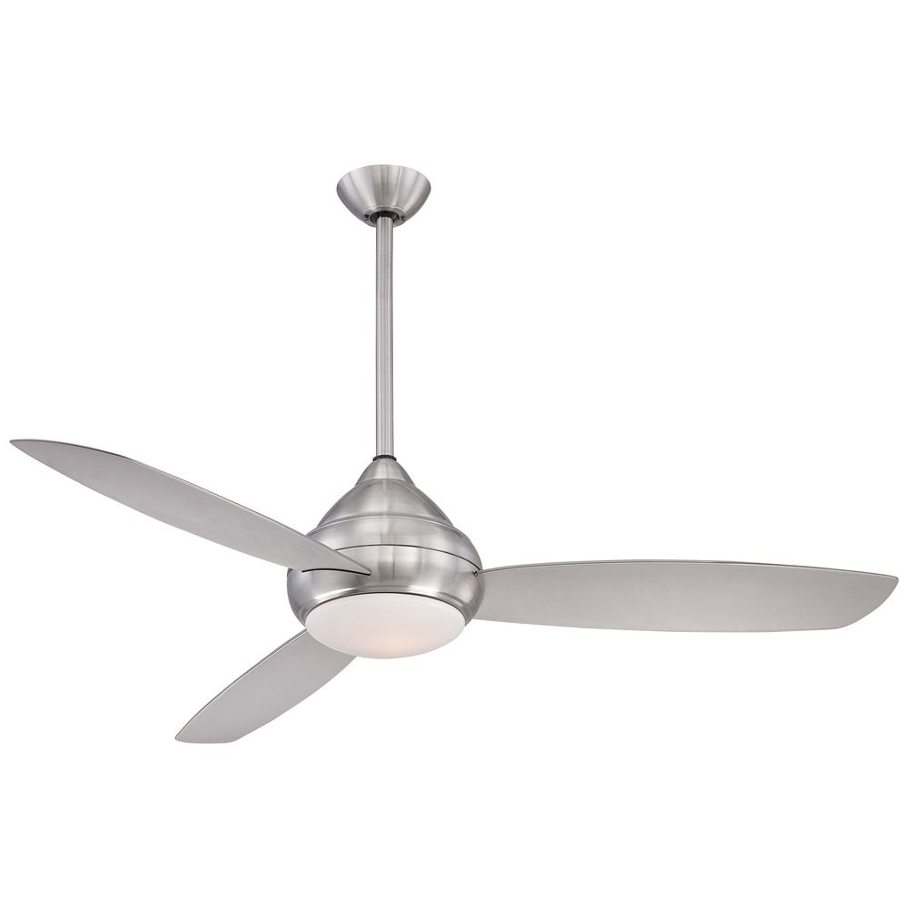 58 inch minka aire fans concept i wet brushed nickel ceiling fan brushed nickel ceiling fan with hover or click to zoom mozeypictures Images