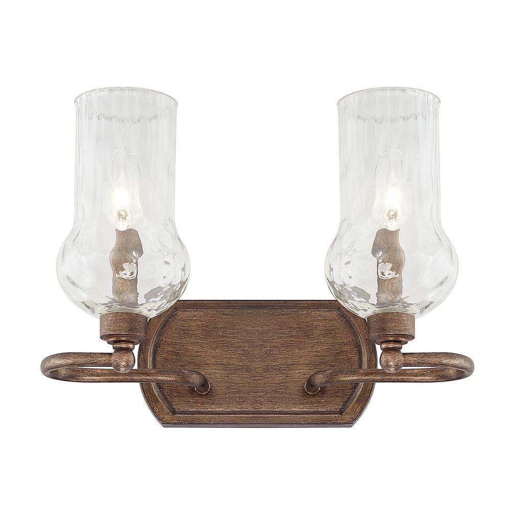 Capital Lighting Rowan Rustic Bathroom Light 111621RT 322 Destination Lig