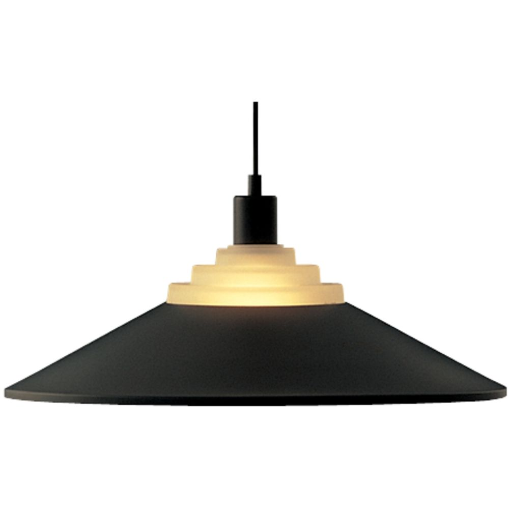 Pendant With Black Metal Shade 100 07 Destination Lighting