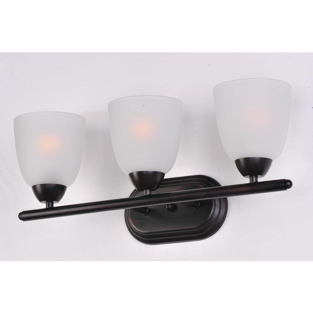 Maxim Lighting Axis Oil Rubbed Bronze Bathroom Light 11313ftoi Destination Lighting