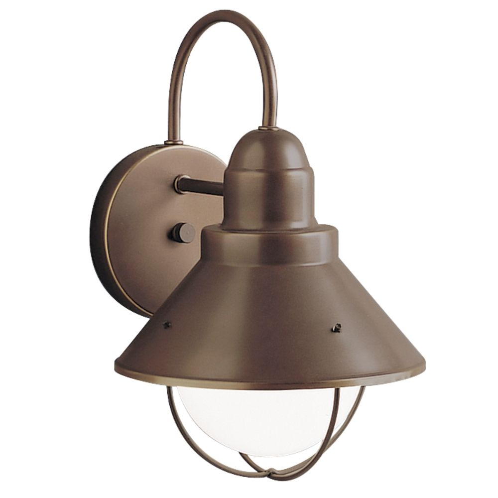 Wall Sconces Bronze Finish : Kichler Outdoor Wall Light in Olde Bronze Finish 9022OZ Destination Lighting