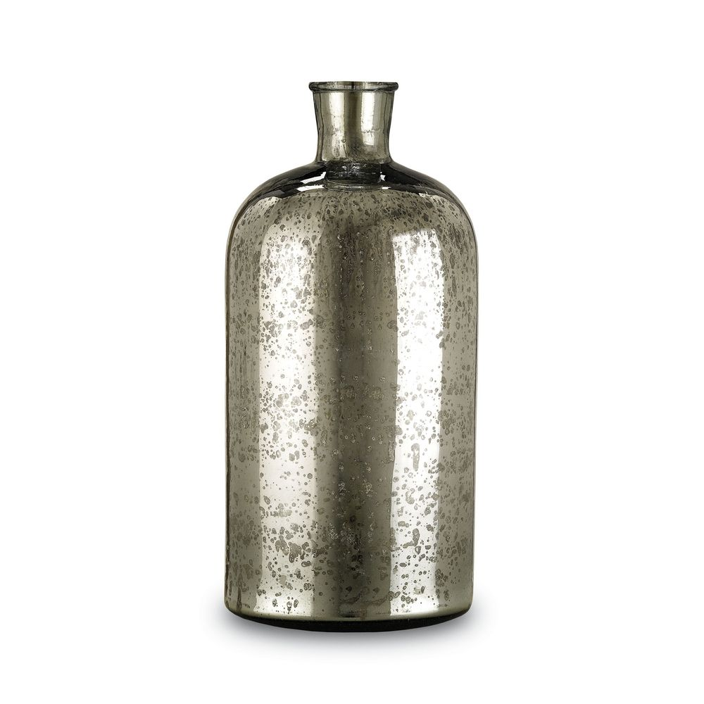 Mercury glass bottle vase 18 inches tall 1024 destination currey and company lighting mercury glass bottle vase 18 inches tall 1024 reviewsmspy