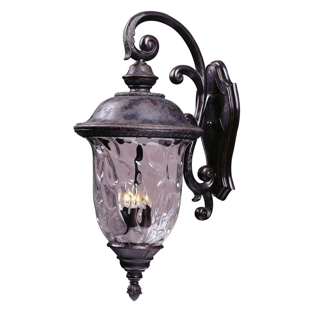 Maxim Lighting Carriage House Vx Oriental Bronze Outdoor
