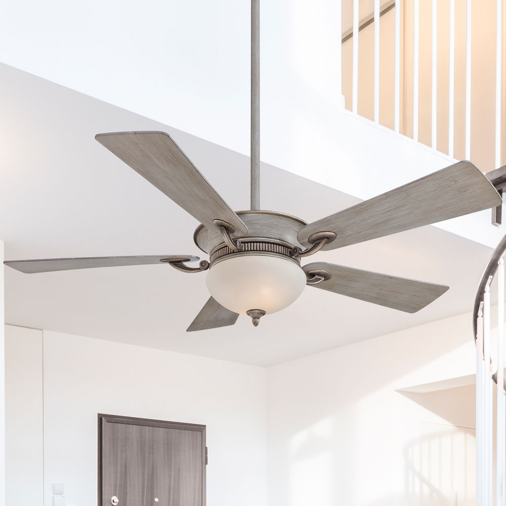 52 Inch Minka Aire Fans Delano Driftwood Ceiling Fan With