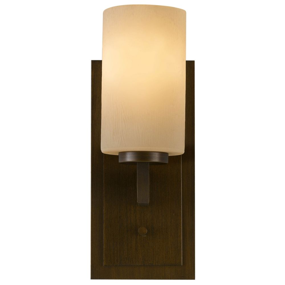 Amber Glass Wall Lights : Modern Sconce Wall Light with Amber Glass in Heritage Bronze Finish VS15901-HTBZ Destination ...