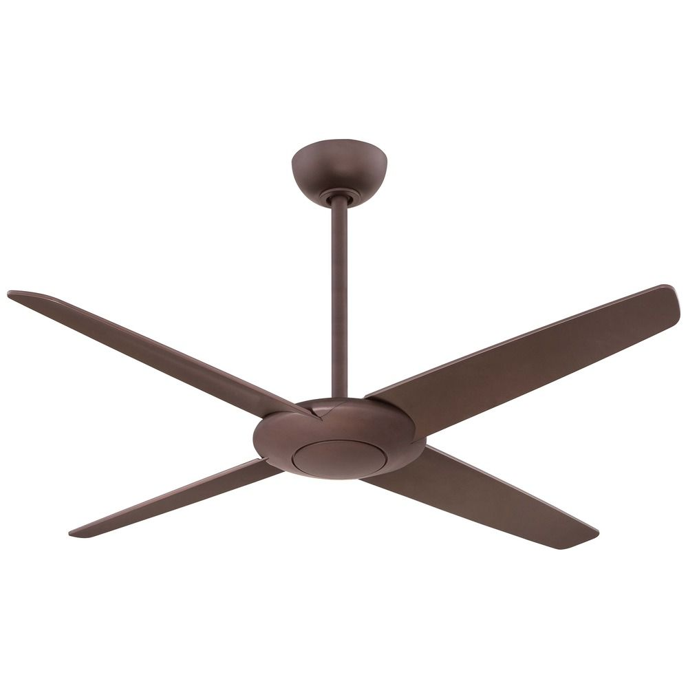 Ceiling fans without lights minka : Minka aire fans pancake oil rubbed bronze ceiling fan
