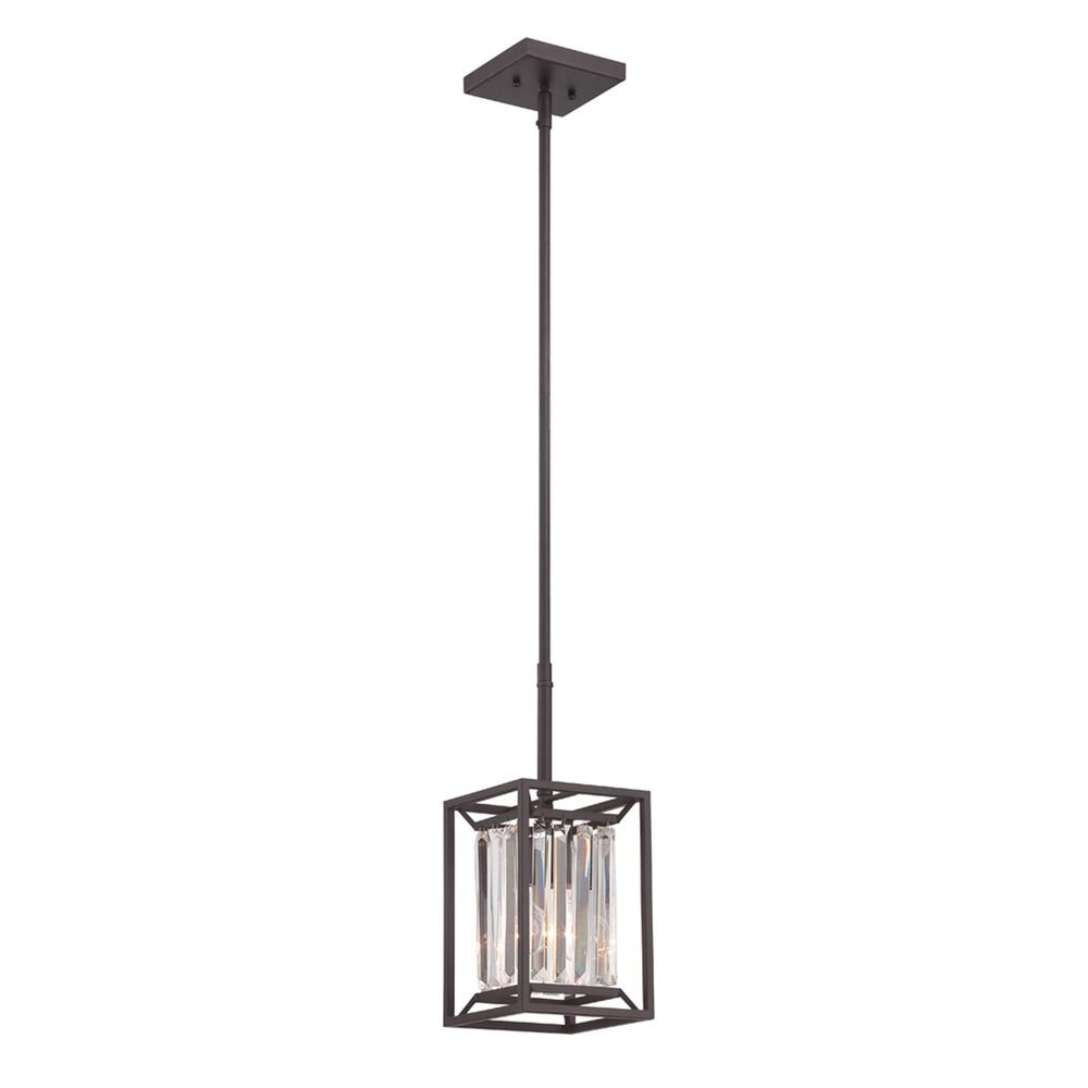 designers fountain linares vintage bronze mini pendant light alt1