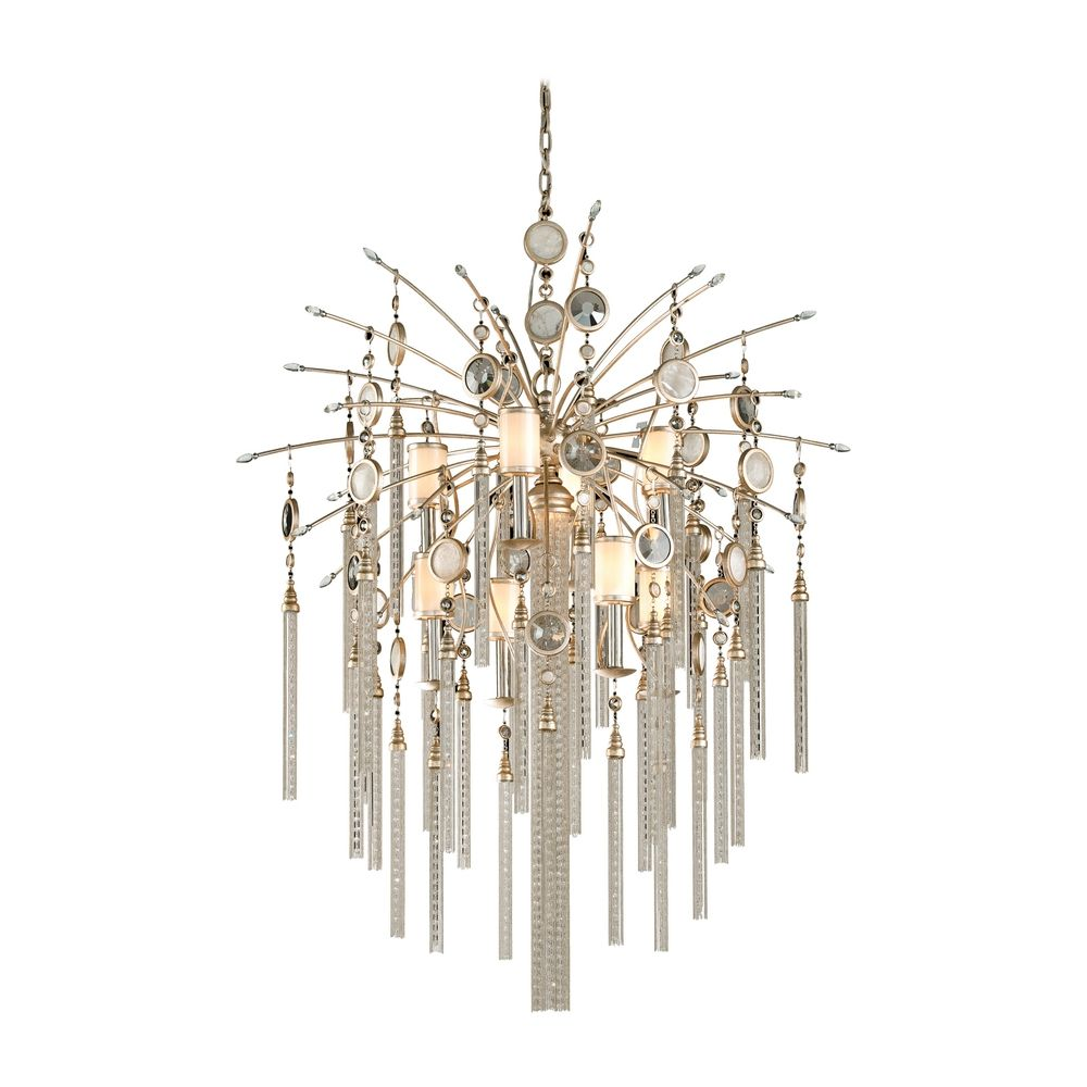 Corbett Lighting Bliss Topaz Leaf Island Light with Cylindrical Shade  sc 1 st  Destination Lighting & Corbett Lighting Bliss Topaz Leaf Island Light with Cylindrical ...