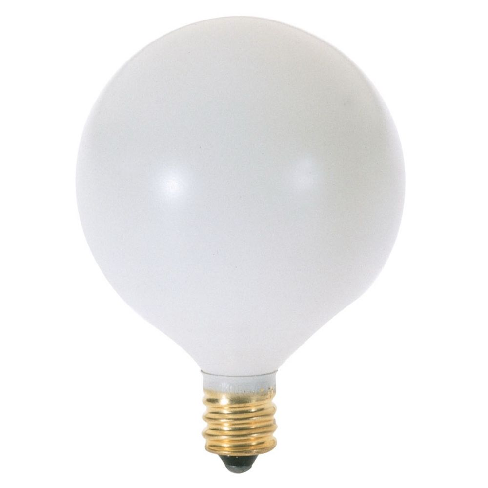 40 watt globe light bulb with candelabra base a3926 destination lighting Light bulb wattage