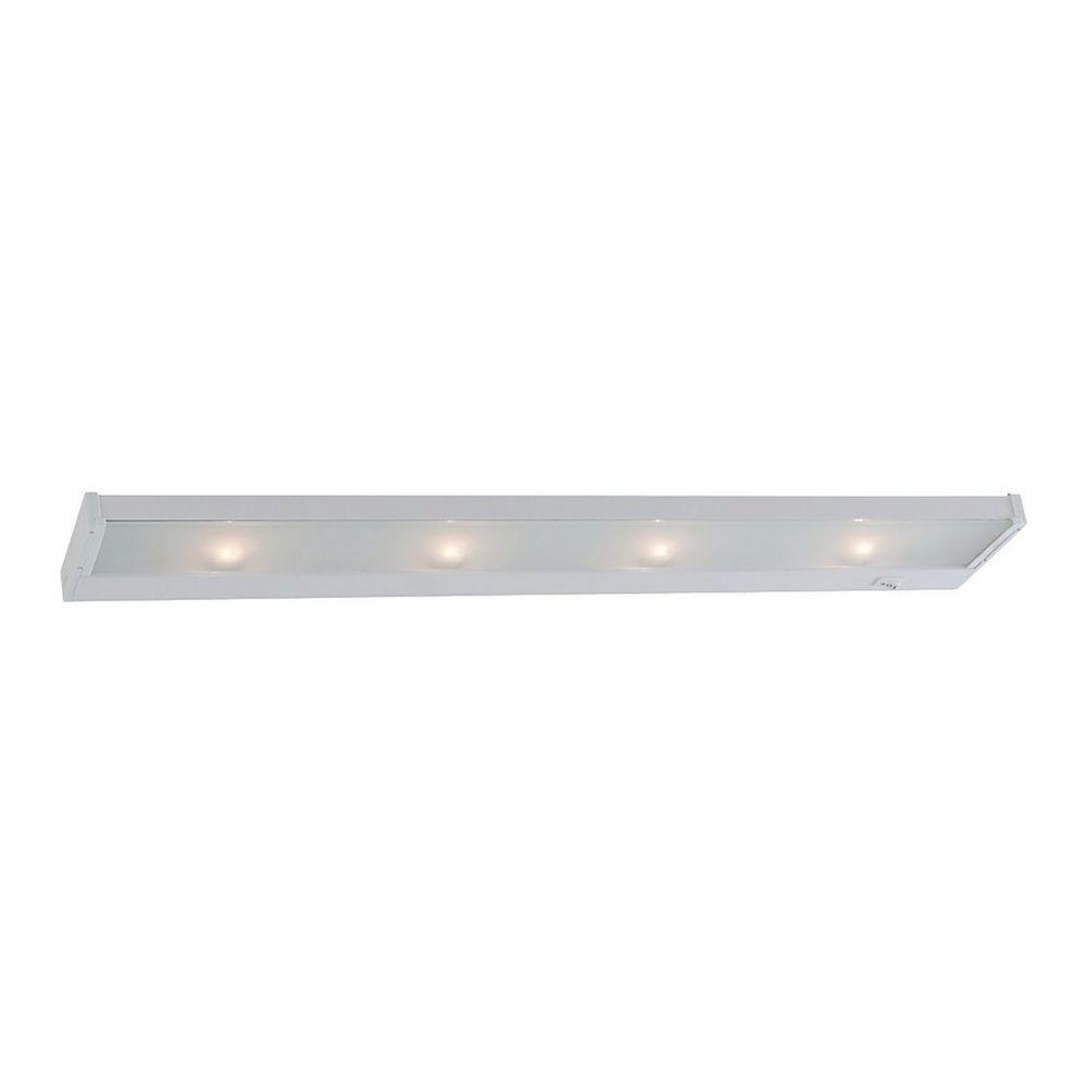26-Inch Xenon Under Cabinet Light Direct-Wire / Plug-In 2650K 120V ...