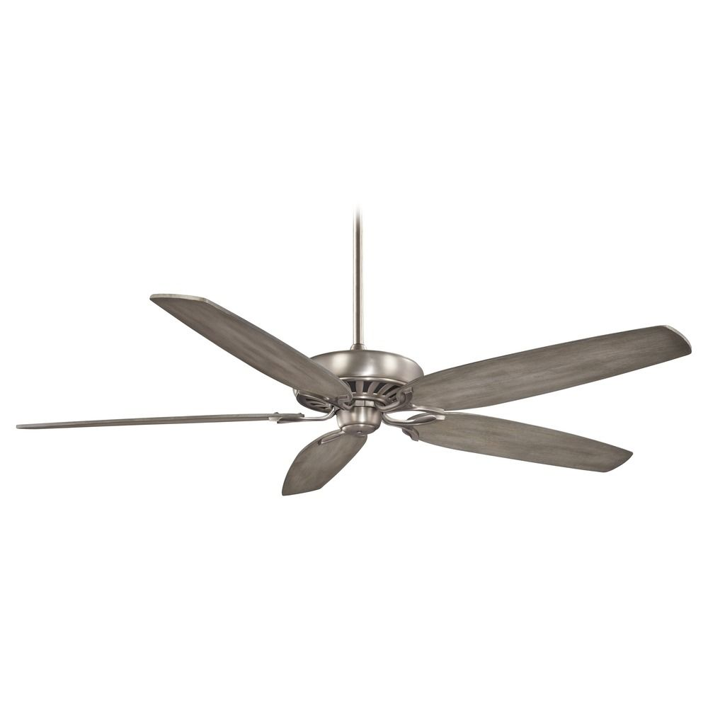 Brushed Nickel Ceiling Fan Without Light Hover Or To Zoom