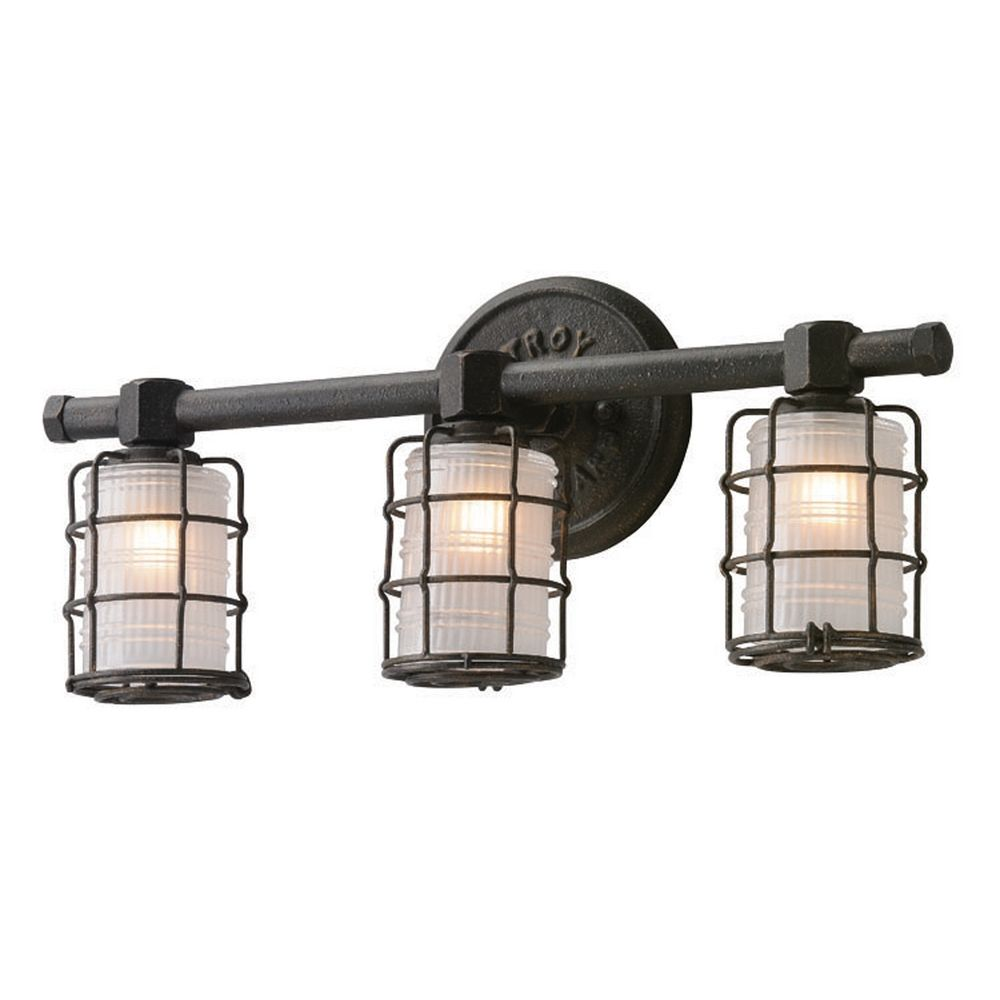 Troy Lighting Mercantile Vintage Bronze Bathroom Light B3843 Destination Lighting