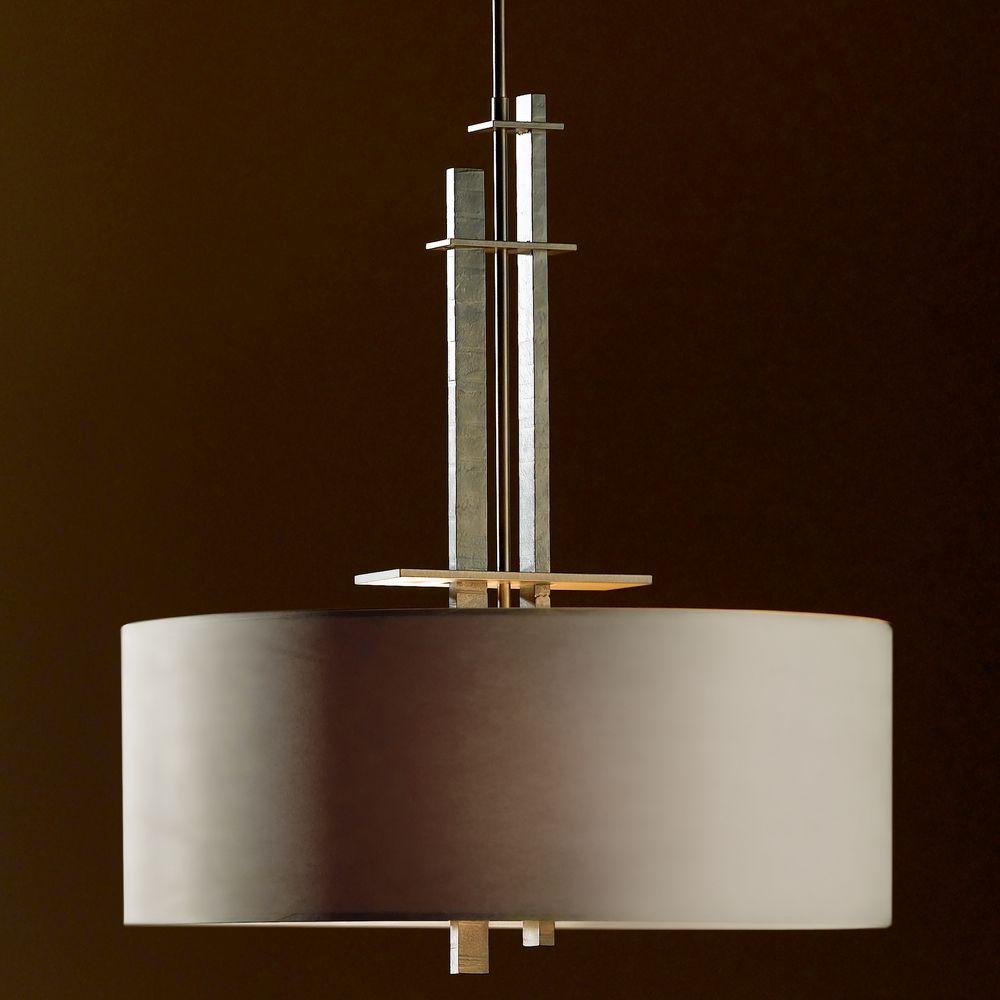 Hubbardton Forge Glass Shades: Hubbardton Forge Lighting Ondrian Dark Smoke Pendant Light