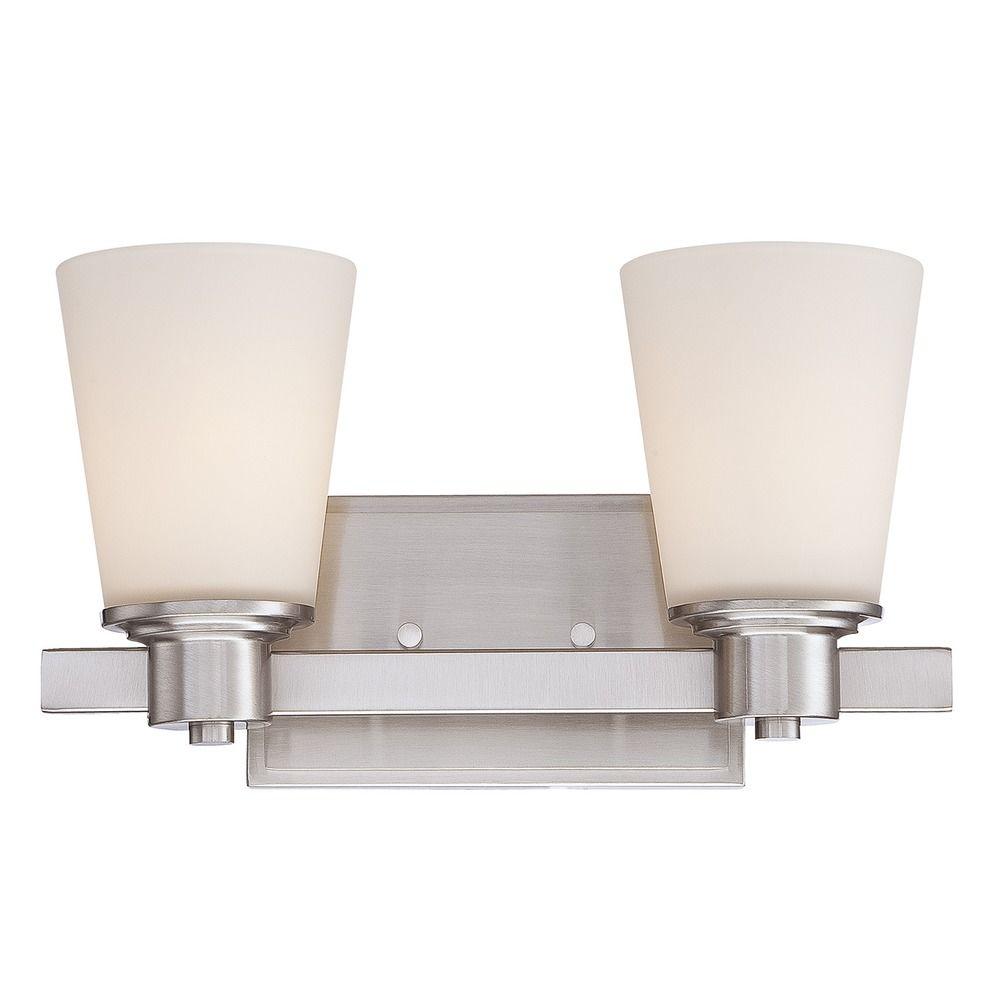 Savoy House Satin Nickel Bathroom Light 8 1080 2 Sn Destination Lighting