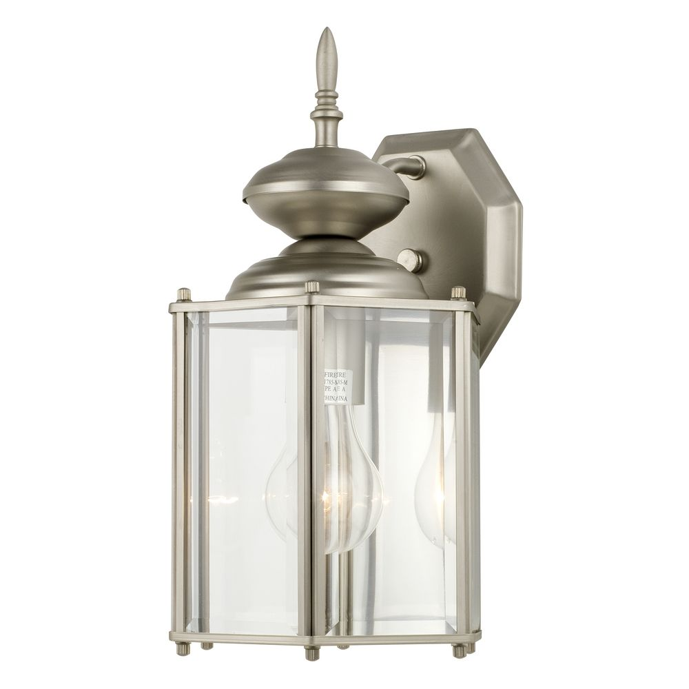 Design Clics Lighting Lantern Style Outdoor Wall Light 322 Sn Hover Or Click To Zoom