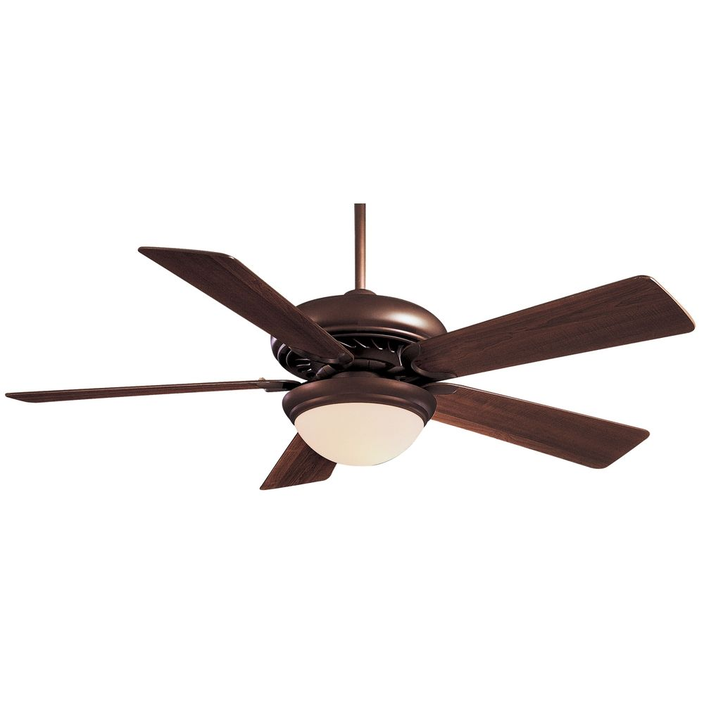 Ceiling Light Fan: 52-Inch Ceiling Fan With Five Blades And Light Kit