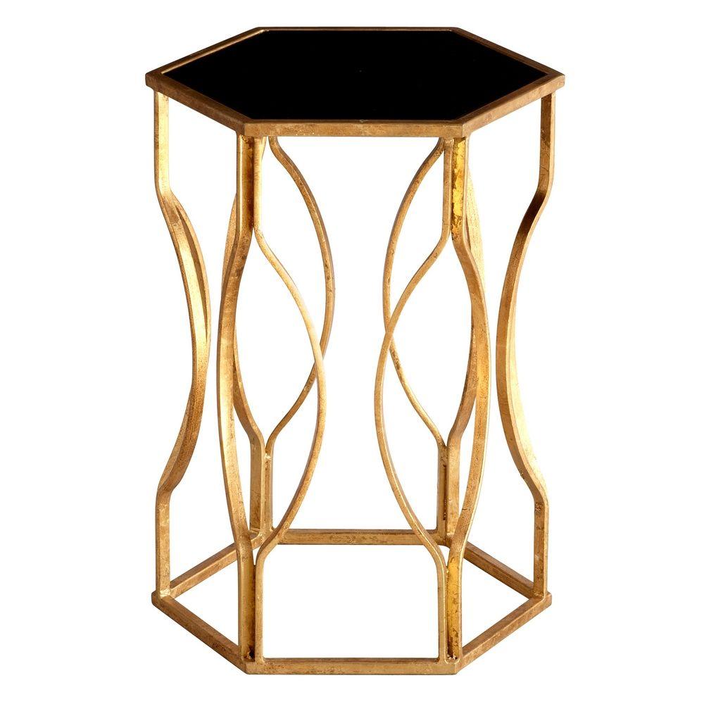 Cyan Design Anson Gold Leaf Coffee & End Table