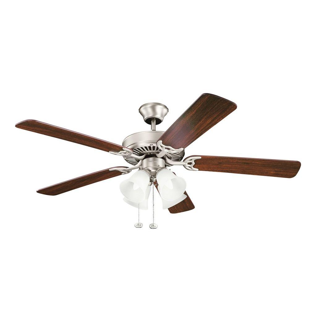 Ceiling fan light transformer : Kichler lighting basics ceiling fan with light ni