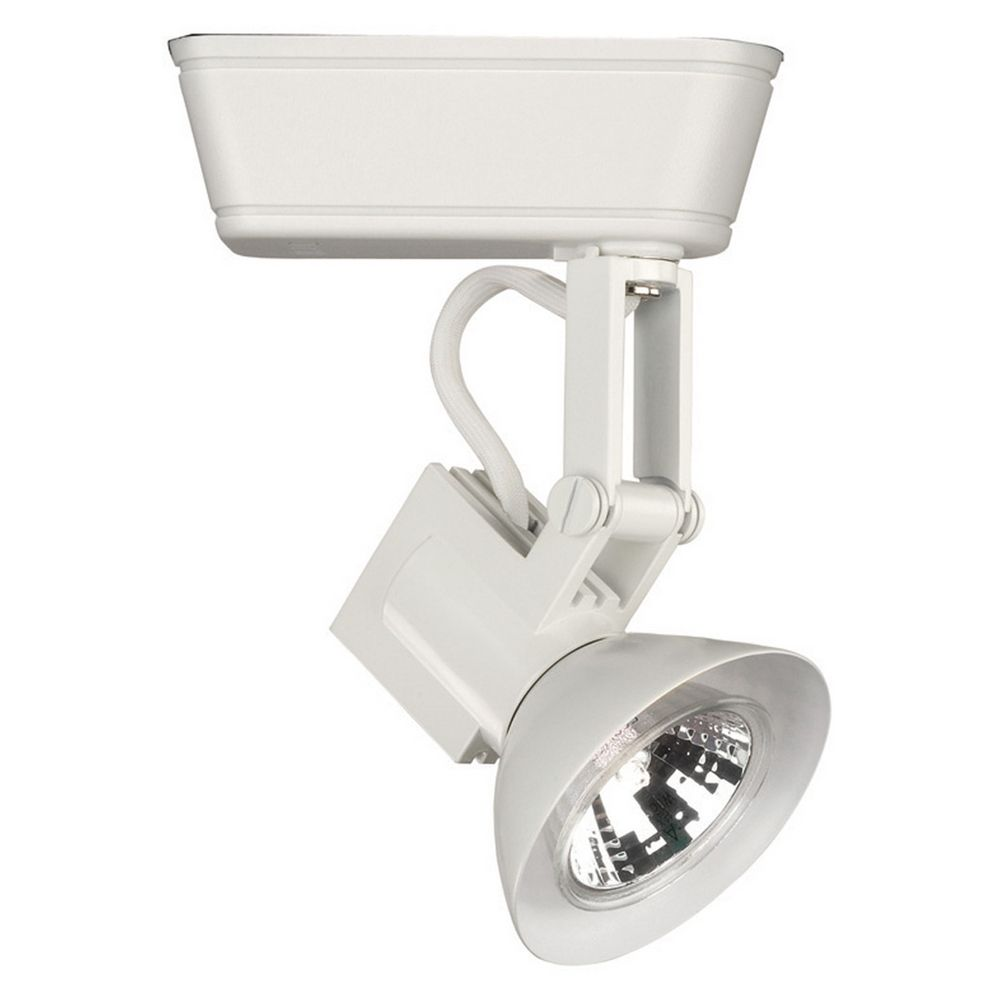 wac lighting white track light head lht 856l wt