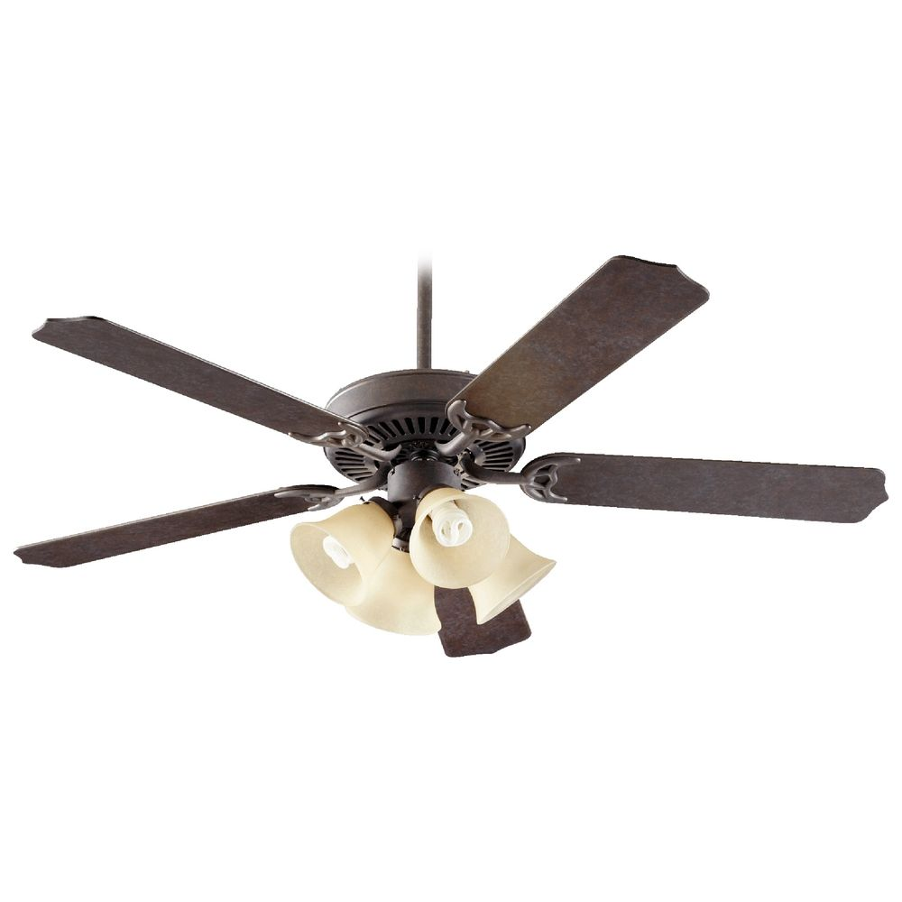 Sienna Ceiling Light Bhs : Quorum lighting capri vii toasted sienna ceiling fan with