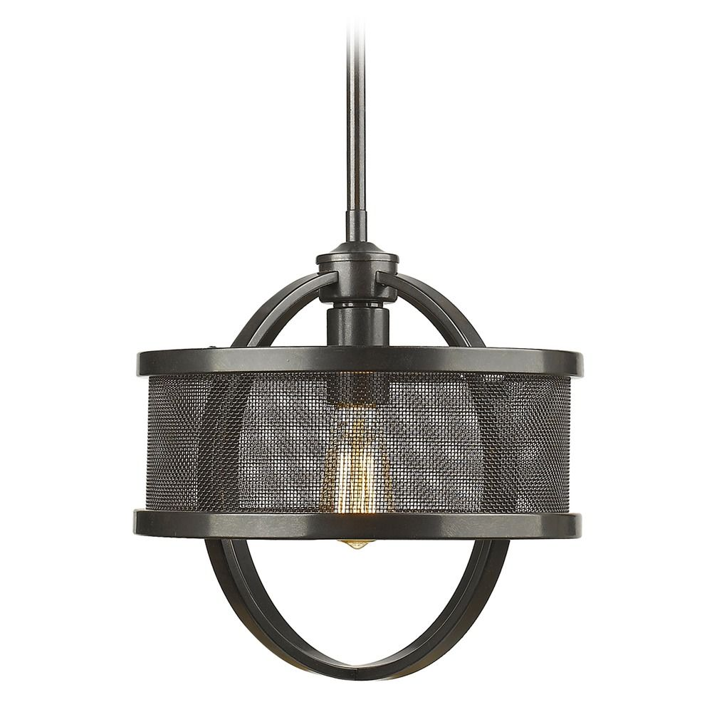 Golden lighting colson eb etruscan bronze mini pendant light with product image aloadofball Gallery