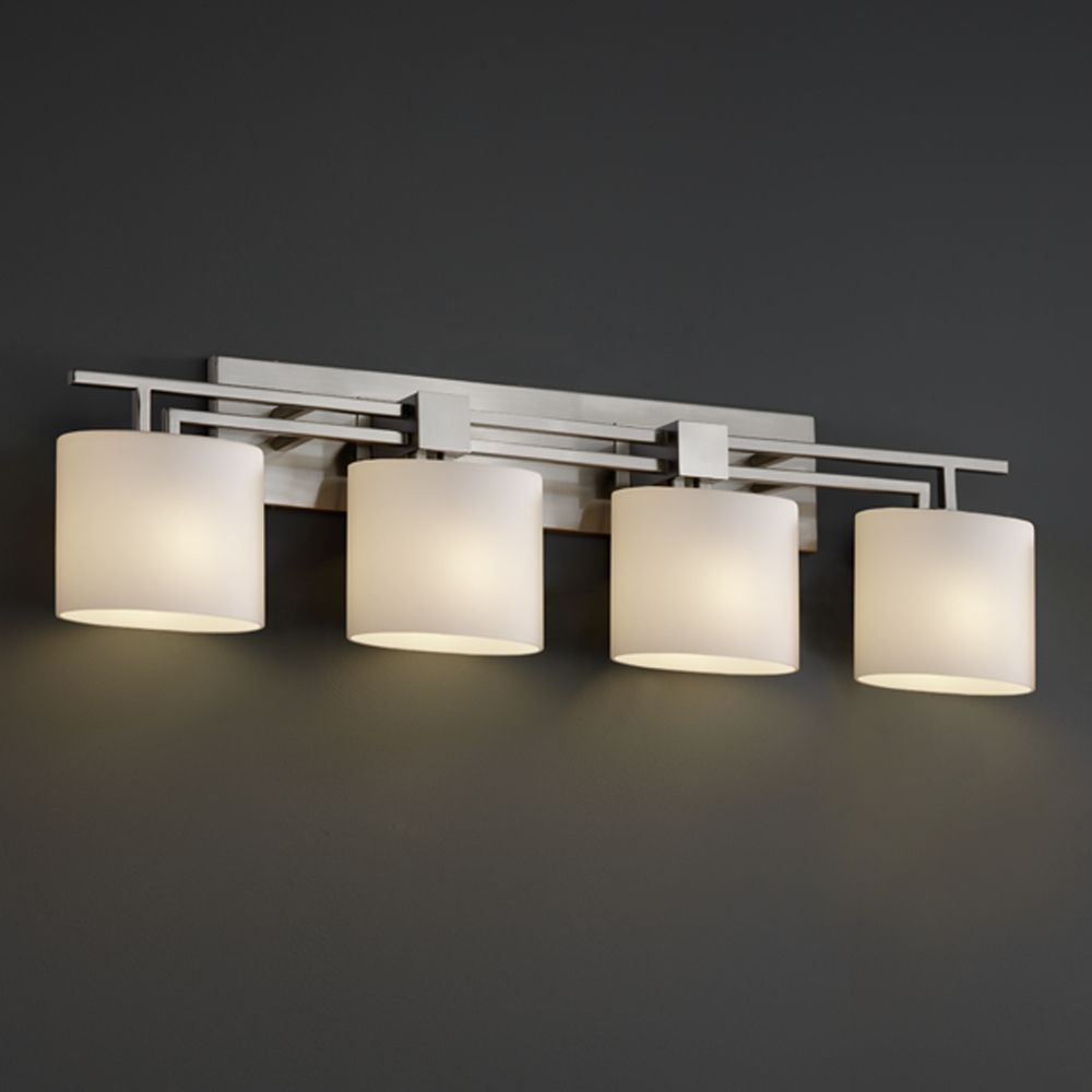justice design group bathroom lighting justice design fusion collection bathroom light 23570