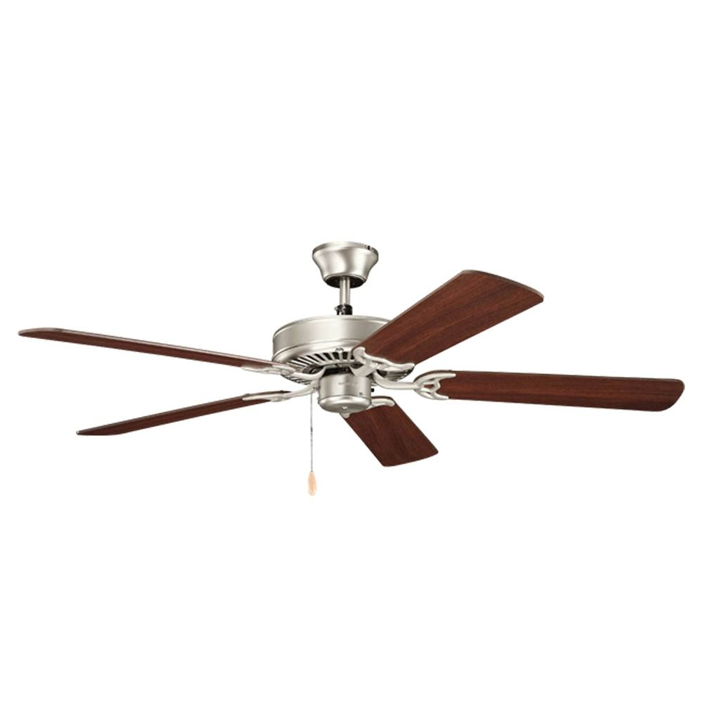 Ceiling Fans Without A Light : Kichler lighting basics ceiling fan without light ni