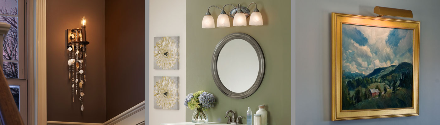 Wall Lights, Bathroom Vanity Lights, Wall Sconces, Wall Lamps ...