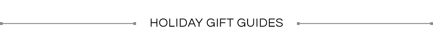 Black Friday and Cyber Monday Sales Gift Guides