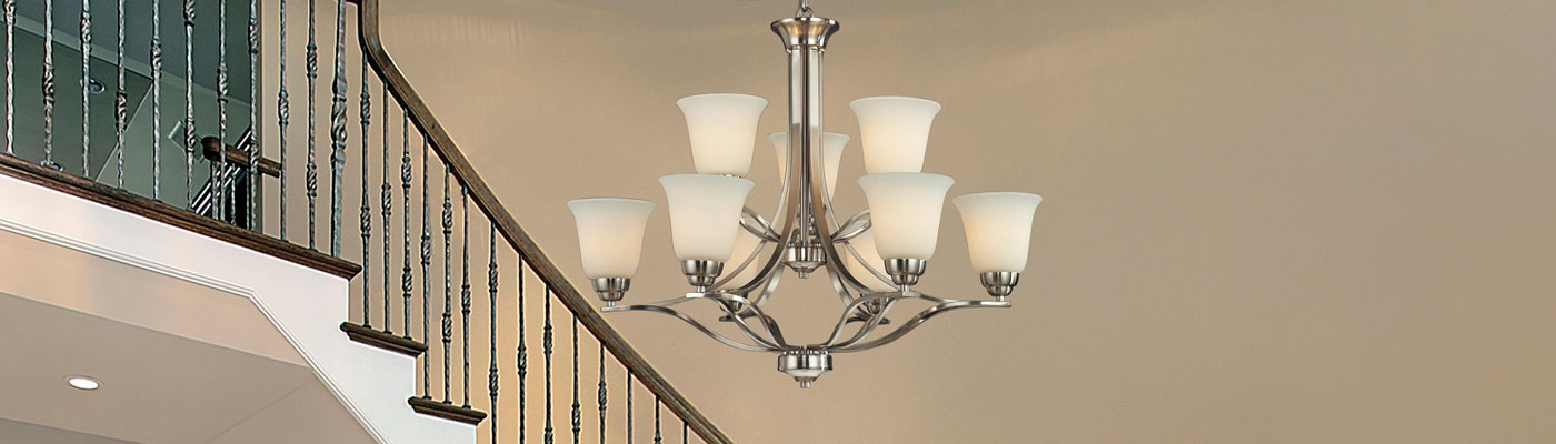 Entryway Lighting – Contemporary Foyer Chandelier