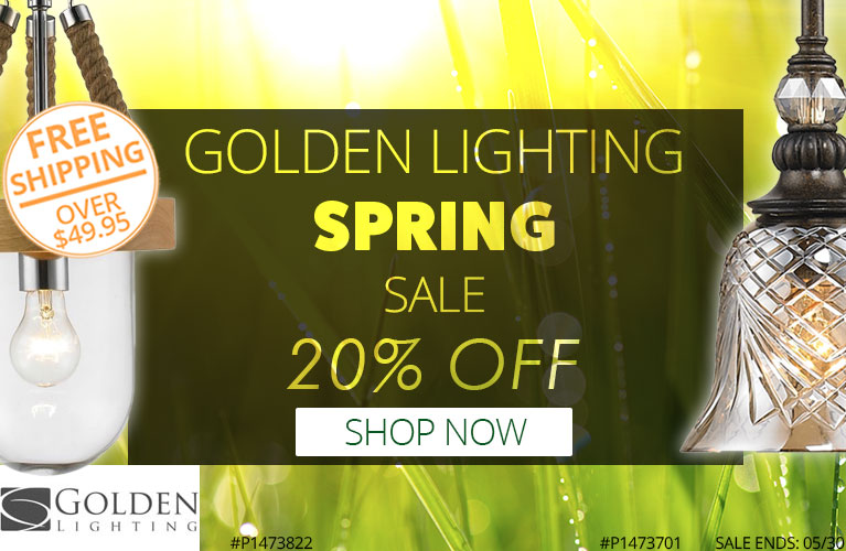 Golden Lighting Spring Sale