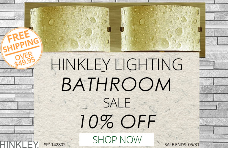 Hinkley Lighting Bathroom Sale