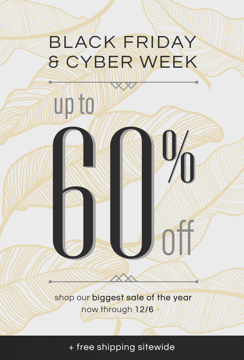 Black Friday Cyber Monday Sales Event