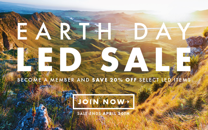 Earth Day LED Sale