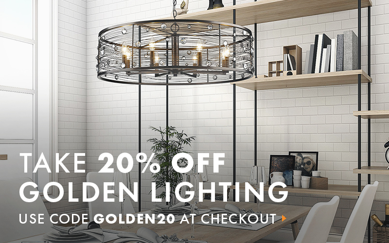 Golden Lighting Sale