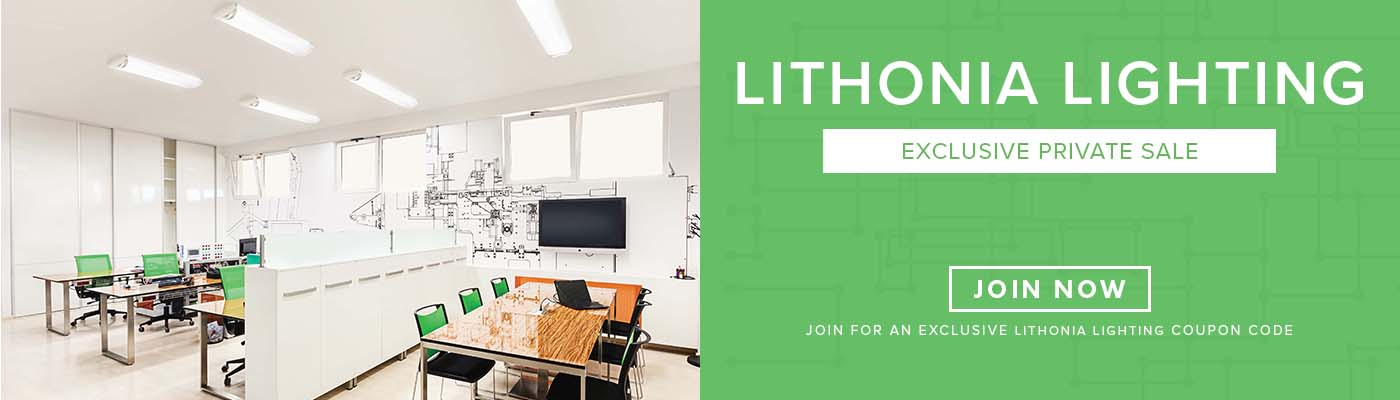 Lithonia Lighting Private Sale Exclusive Event - Join Now