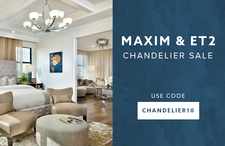 Maxim Chandelier Sale 10% Off Use Code: CHANDELIER10